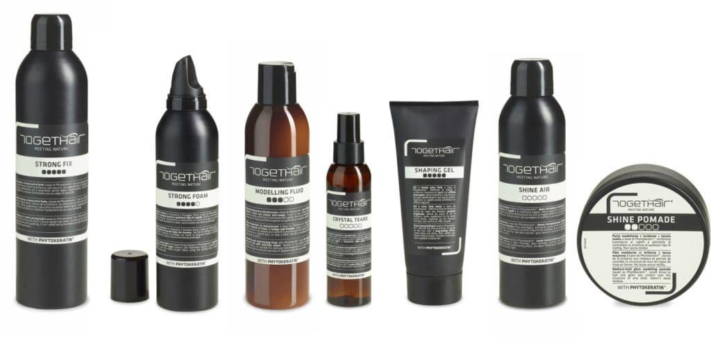 Linia kosmetyków dostylizacji włosów marki TOGETHAIR